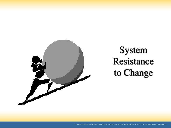 System Resistance