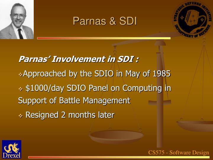 Parnas & SDI