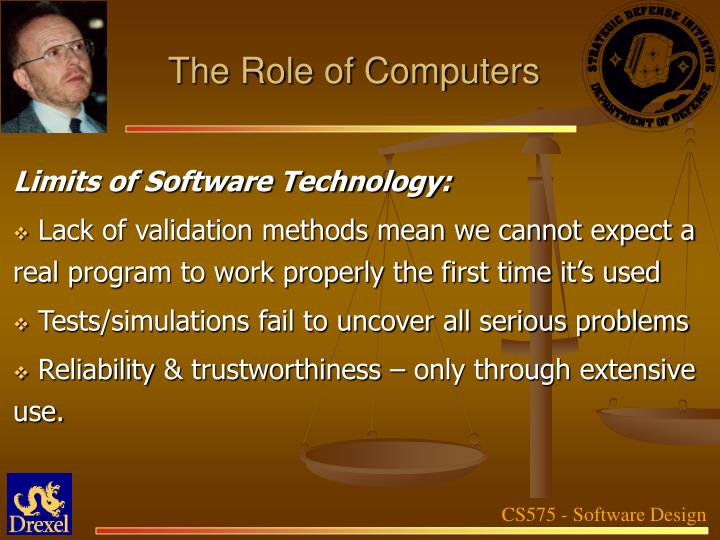 The Role of Computers