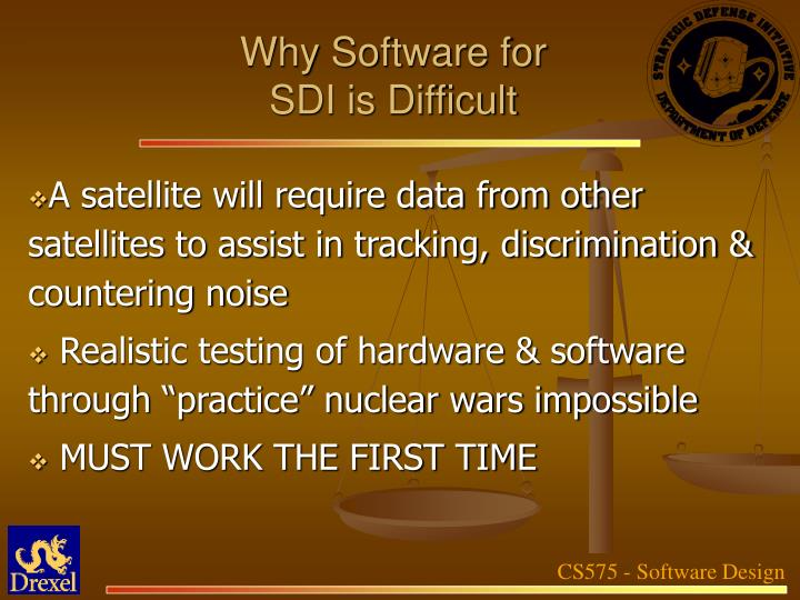 Why Software for