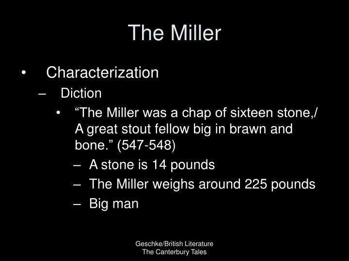 The miller1