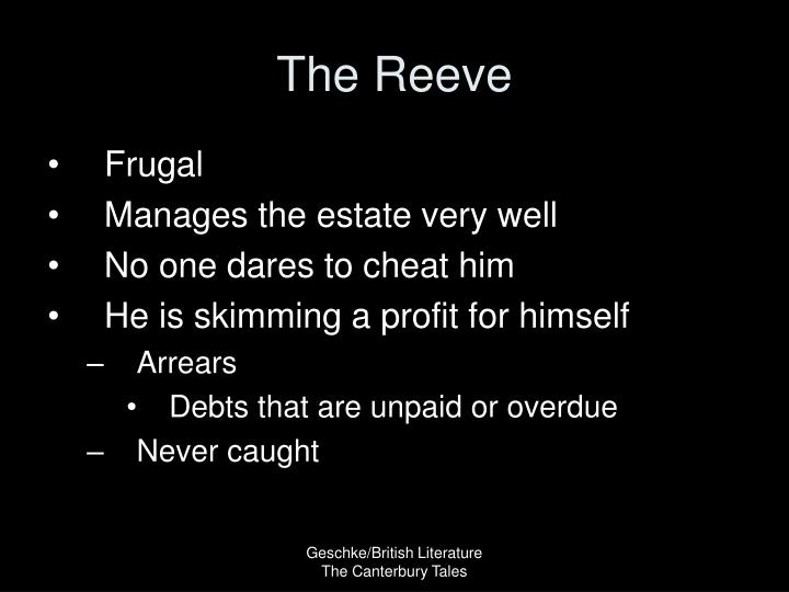 The Reeve