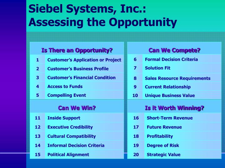 Siebel Systems, Inc.: