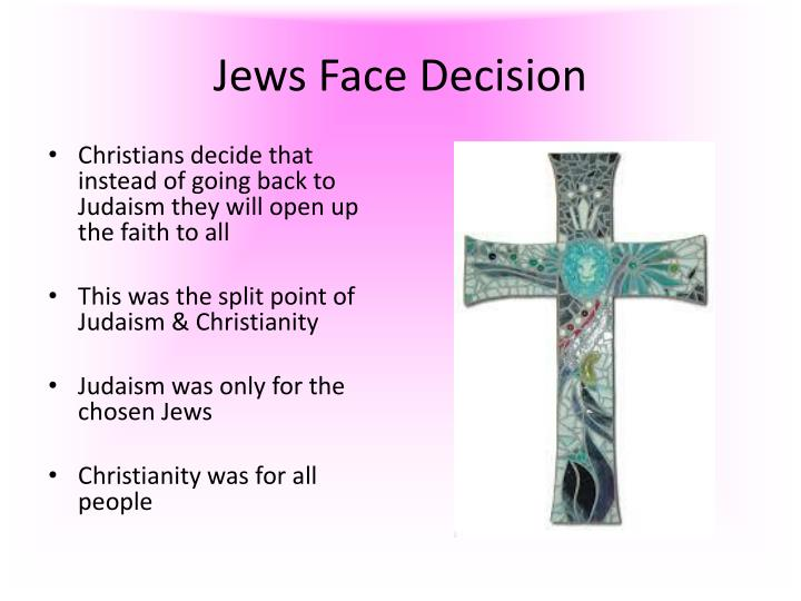 Jews Face Decision