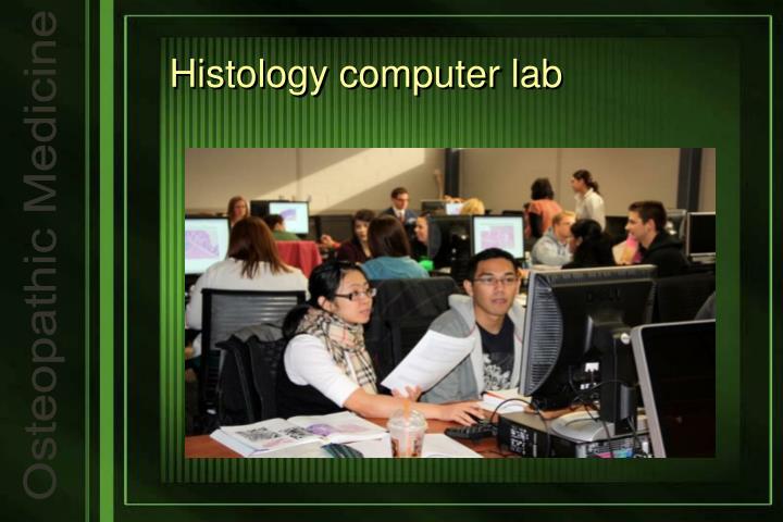 Histology computer lab