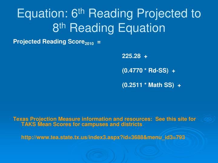 Equation: 6