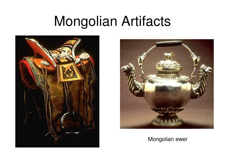 Mongolian Artifacts