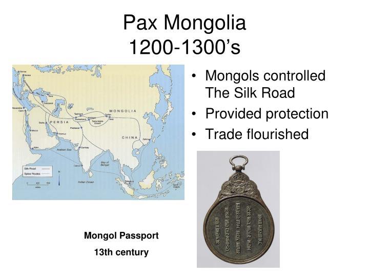 Pax Mongolia