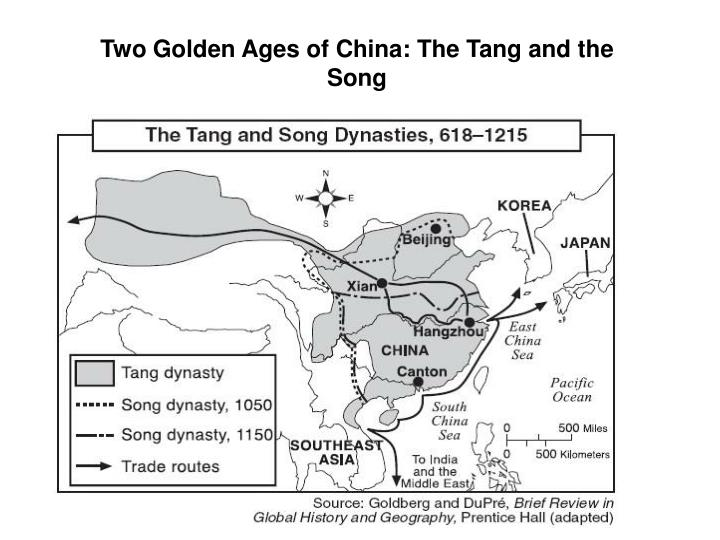 Two Golden Ages of China: The Tang and the Song
