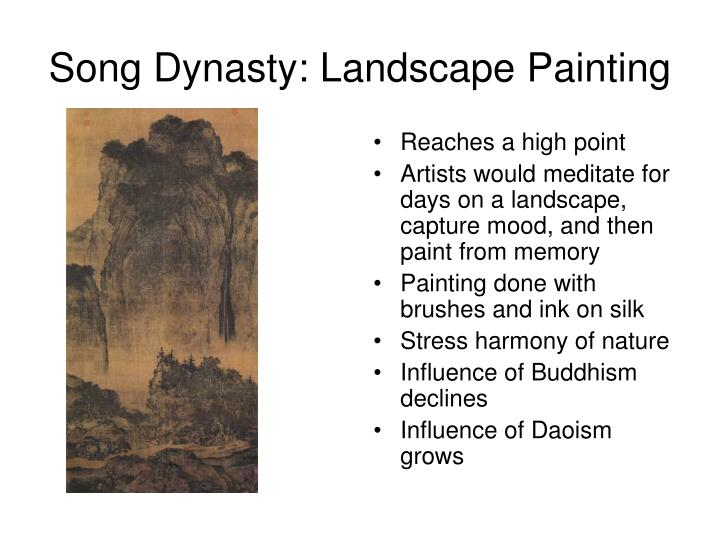Song Dynasty: Landscape Painting
