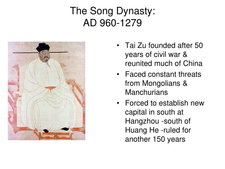 The Song Dynasty:
