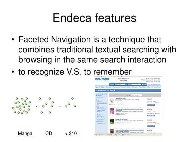 Endeca features