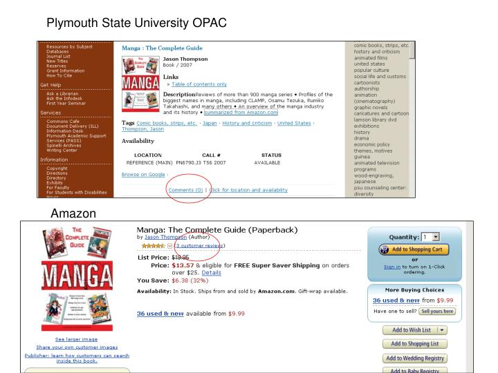 Plymouth State University OPAC