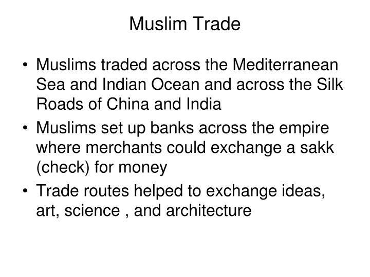 Muslim Trade