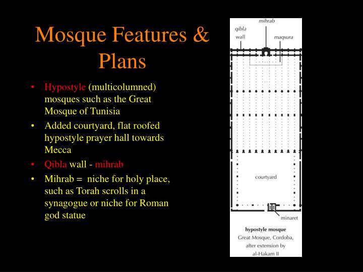 Mosque Features & Plans