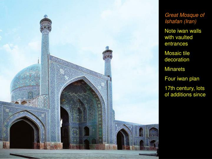 Great Mosque of Ishafan (Iran)