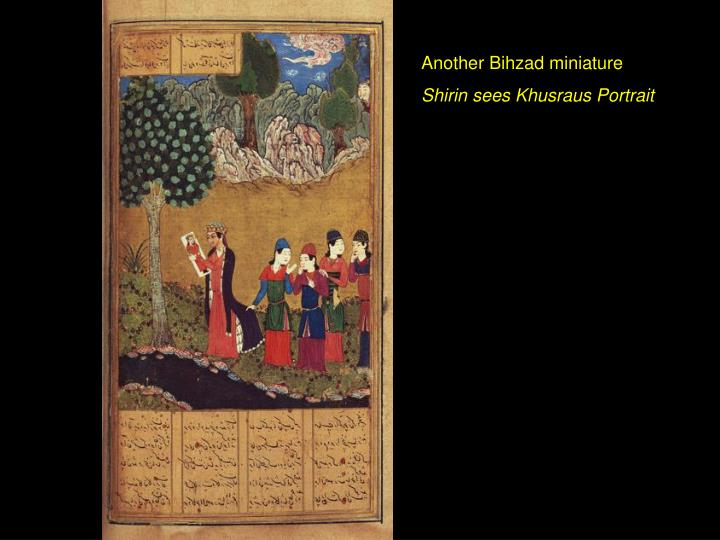 Another Bihzad miniature