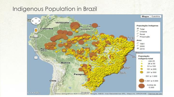 Indigenous Population in Brazil