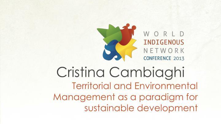 Cristina Cambiaghi