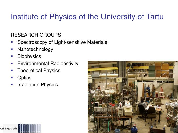 Institute of Physics o