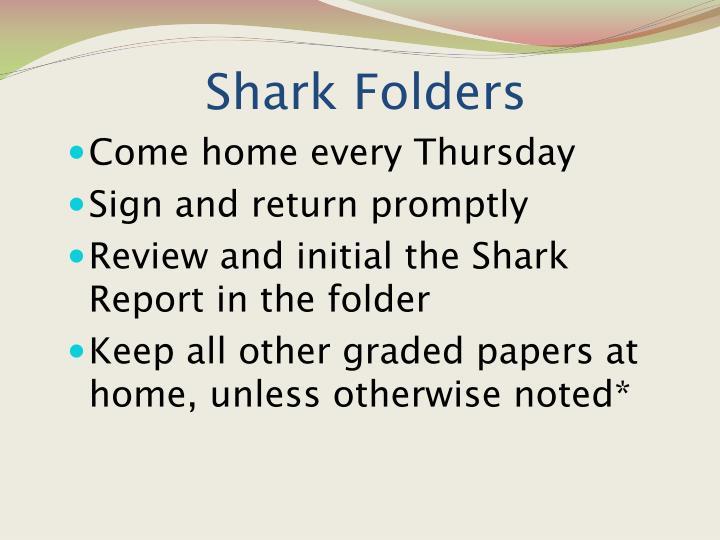 Shark Folders