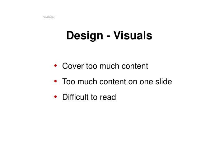 Design - Visuals
