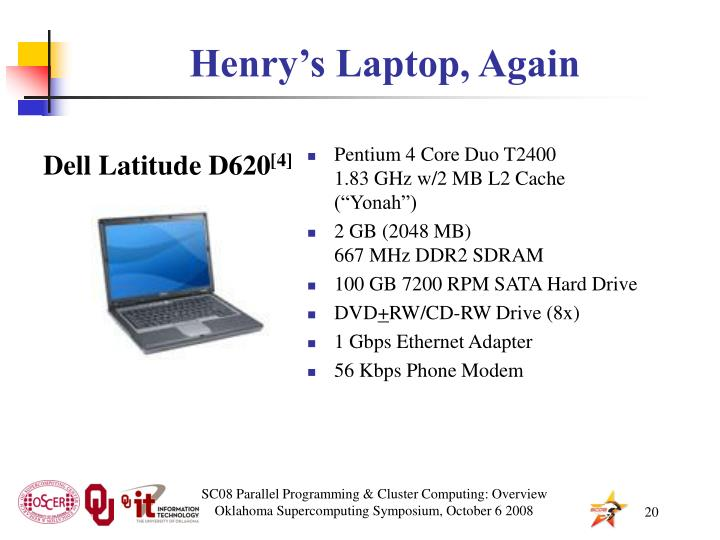 Henry's Laptop, Again