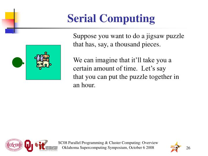 Serial Computing
