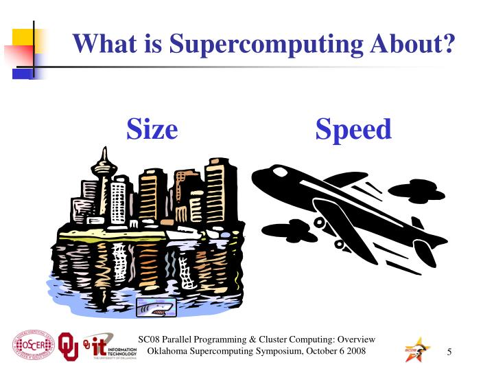 What is Supercomputing About?