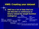 hw0 creating your dataset1