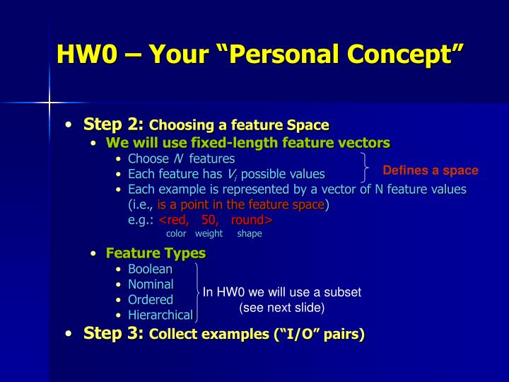 "HW0 – Your ""Personal Concept"""
