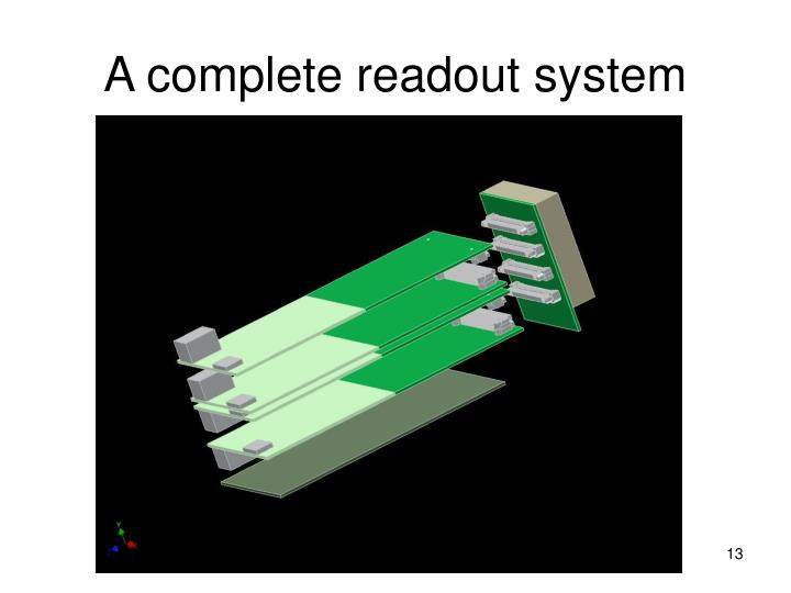 A complete readout system