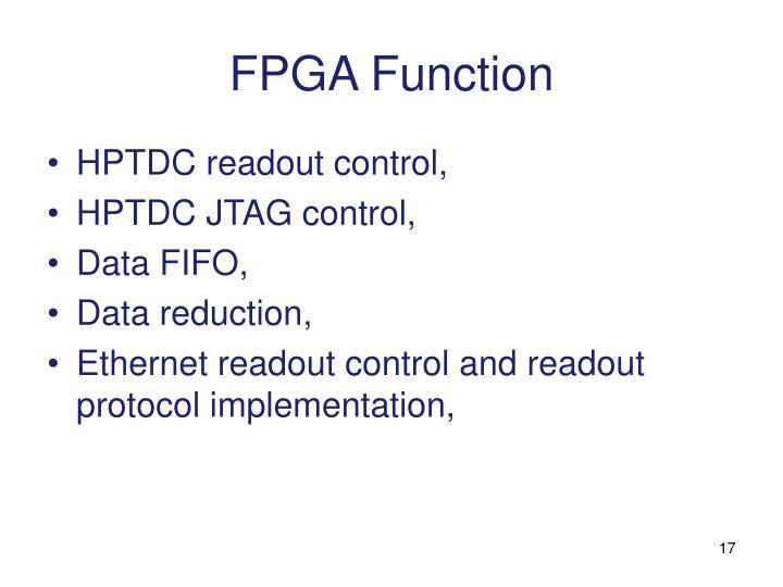 FPGA Function