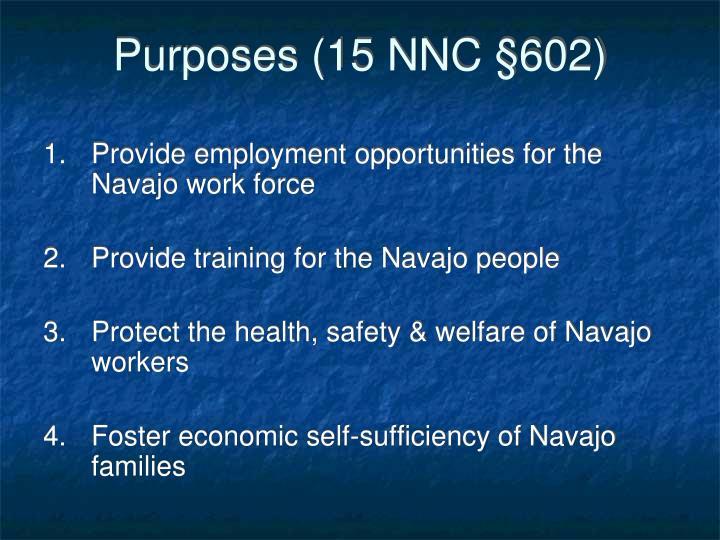 Purposes (15