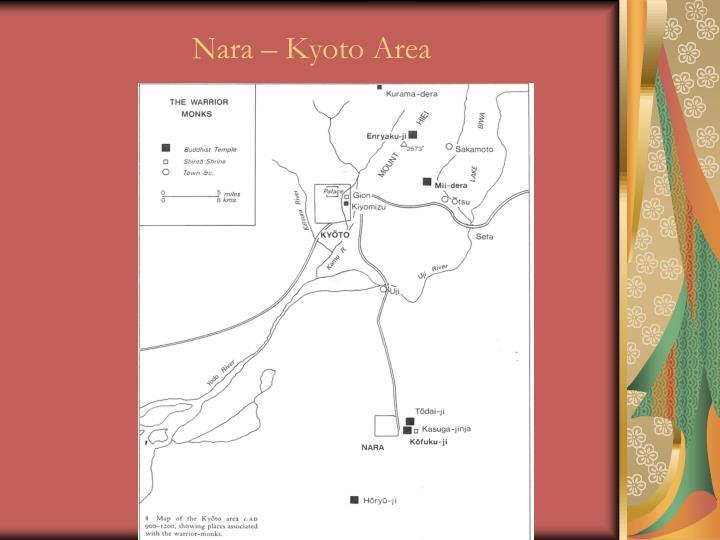 Nara – Kyoto Area