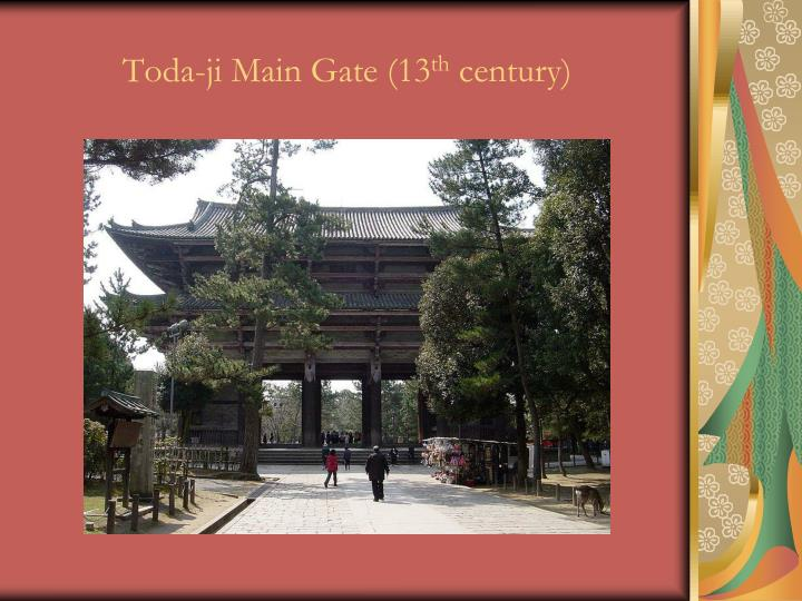 Toda-ji Main Gate (13