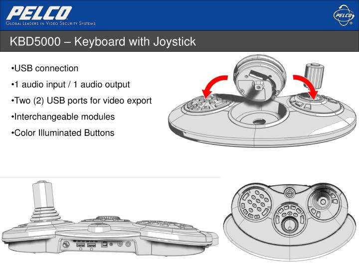 KBD5000 – Keyboard with Joystick
