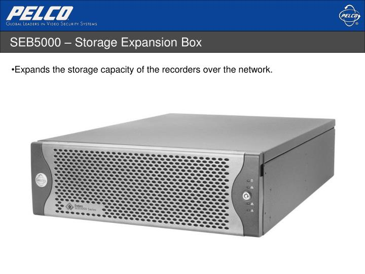 SEB5000 – Storage Expansion Box