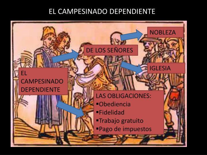 EL CAMPESINADO DEPENDIENTE