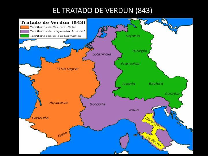 EL TRATADO DE VERDUN (843)