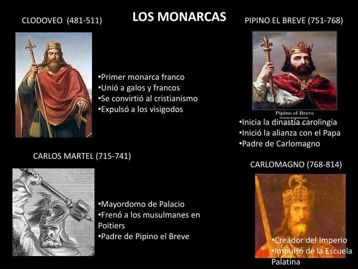 LOS MONARCAS