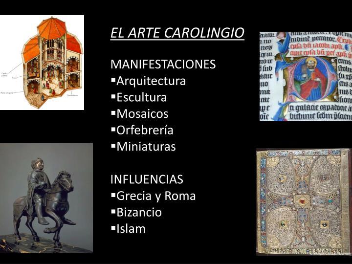 EL ARTE CAROLINGIO