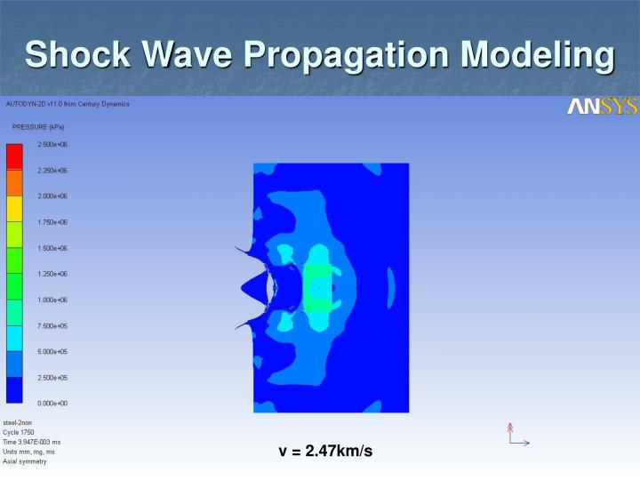 Shock Wave Propagation Modeling