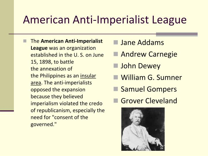 American Anti-Imperialist League