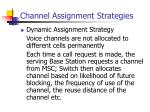 channel assignment strategies1