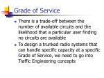 grade of service