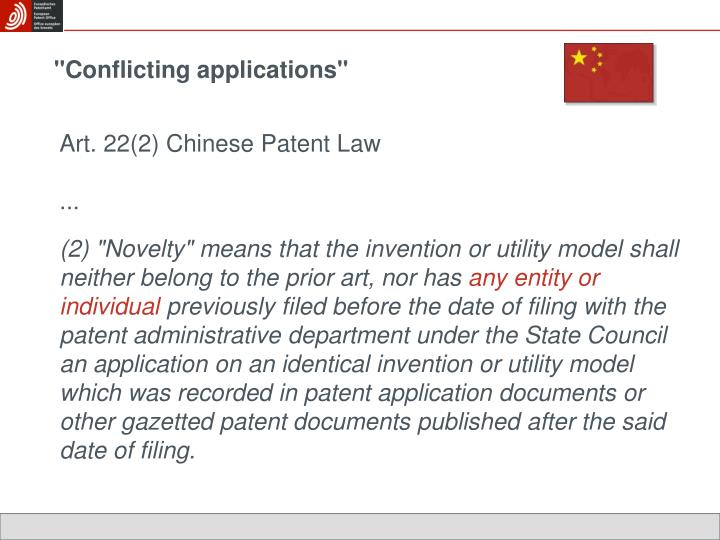 """Conflicting applications"""