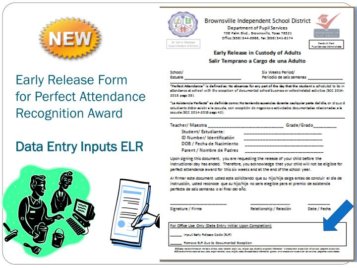Early Release Form