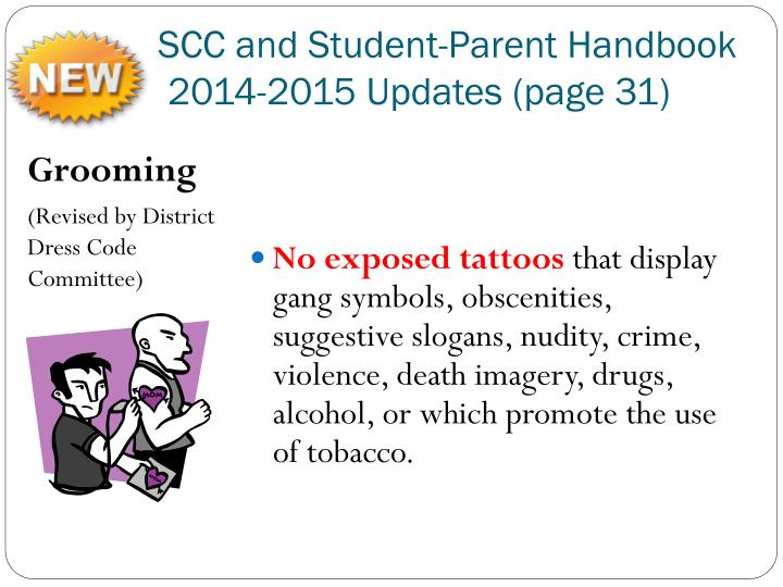SCC and Student-Parent Handbook