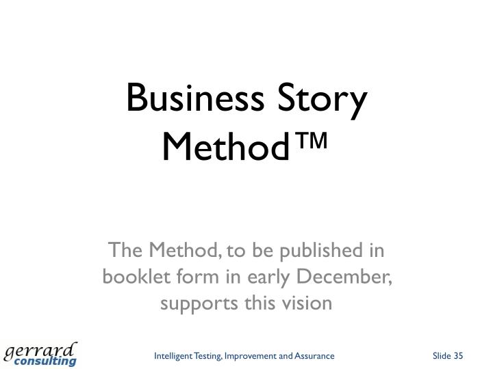 Business Story Method™